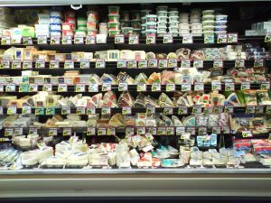 Trader Joes Cheese Case