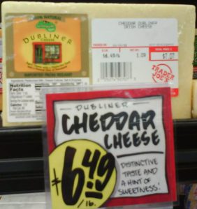 Trader Joes Cheese Case Kerry Gold