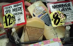 Raw milk cheese trader joes Abbaye St. Mere Morbier