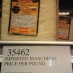 Villacenteno Manchego Cheese