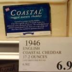 English Coastal Cheddar