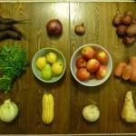 csa winter root veggies PNW