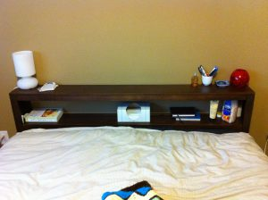 double decker bed cb2 shelf