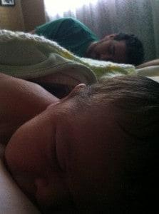 sleep with baby