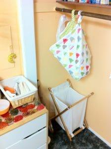 baby nursery wetbag hamper