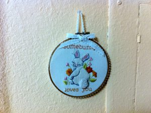 baby nursery needlepoint