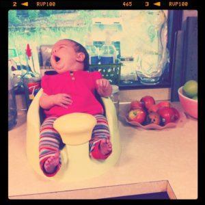 bumbo countertop baby newborn