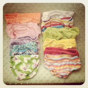 bloomers undies diaper-free