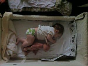 diaper free baby nap
