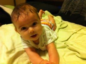 phoebe wetzel 3 months old