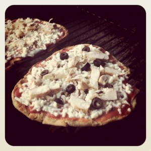 Grilled Pizzas on the BBQ
