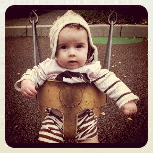 5 month baby swing