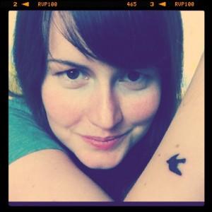 ekwetzel dove tattoo