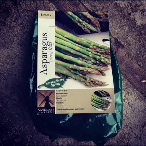 One of the last asparagus packs! I'm almost too late!