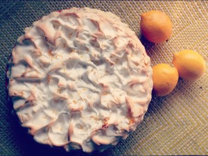 perfect lemon mereinge pie. bam. meringue