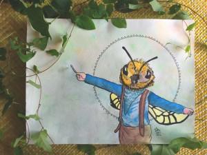 bumble bumblebee honeybee boy dressup