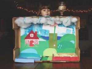 Our Rain Diorama
