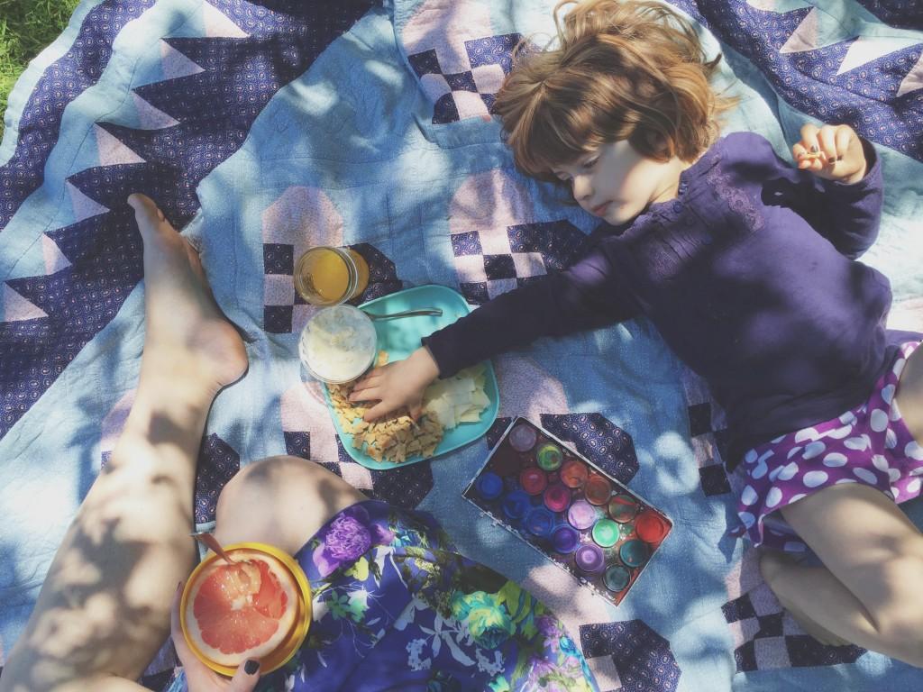 quilt crackers paints watercolor