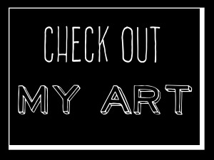 my art button