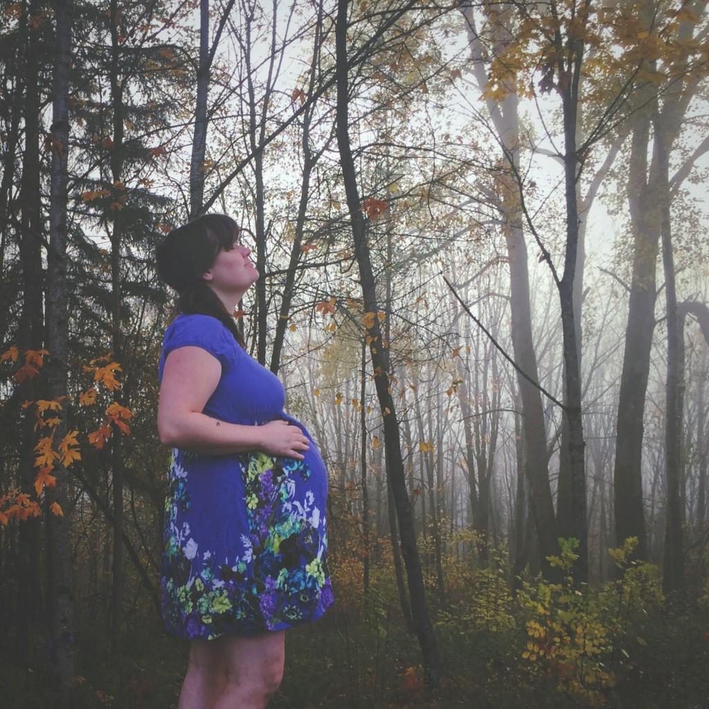 erin 9 months pregnant