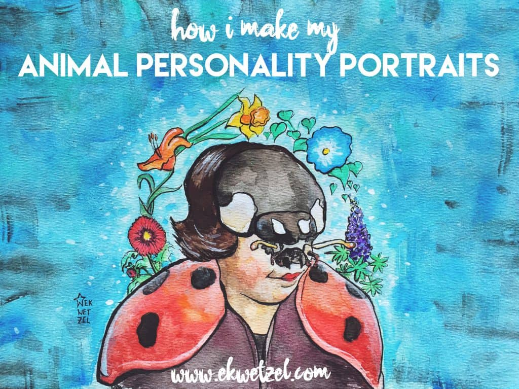 how i paint a portrait